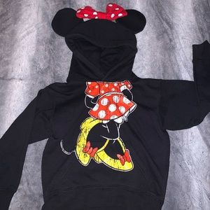 Original Disneyland Minnie Mouse hoodie with Ears